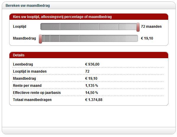 Redcoon   Informatie over kopen op afbetaling
